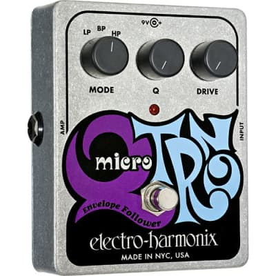 Electro Harmonix Micro Q Tron Envelope Filter Pedal for sale