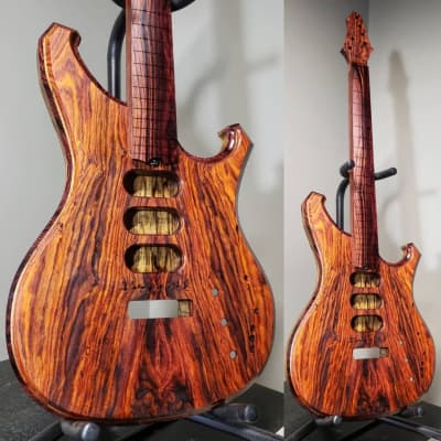 Barlow Guitars Falcon II 2019 Cocobolo / Camatillo for sale