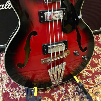 Columbus Hollowbody Bass - Japan - 1960s for sale