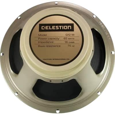 "Celestion G12M-65 Creamback 12"" Speaker 8 Ohms"