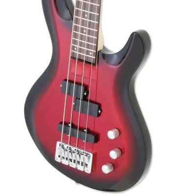 Aria Pro II IGB-STD 4 String Bass  2019 Metallic Red