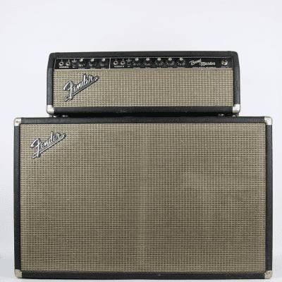 "Fender Bandmaster 40-Watt 2-Channel 2x12"" Piggyback Guitar Amp 1963 - 1967"