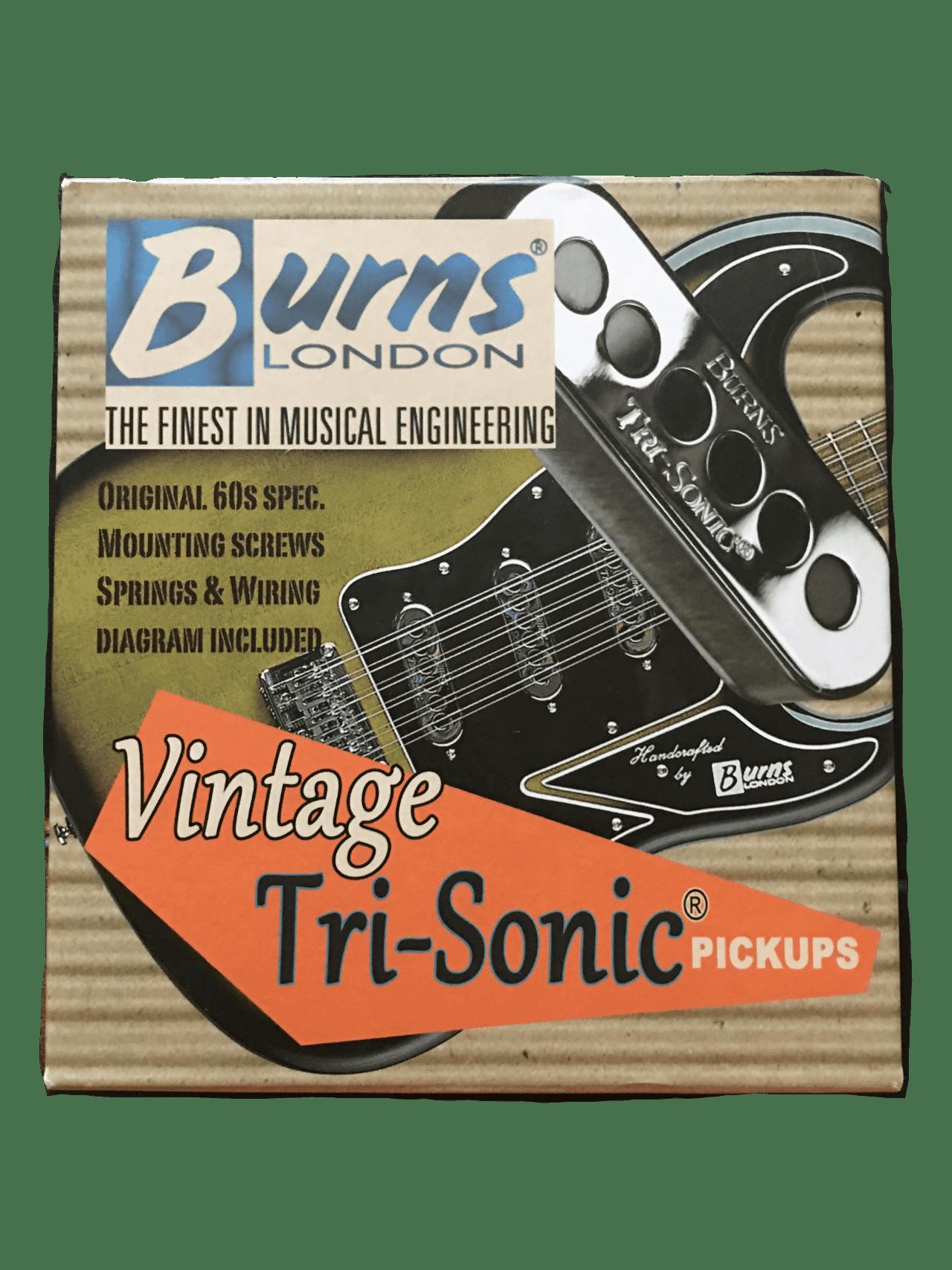vintage tri sonic pickups set of 3 burns north america. Black Bedroom Furniture Sets. Home Design Ideas