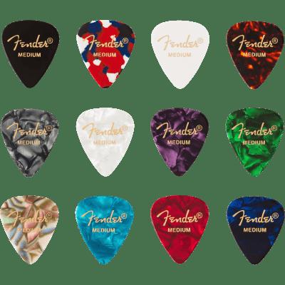 Fender 098-0300-300 351 Pick Pack, Medium, 12 Count