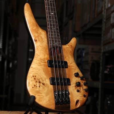 Ibanez SR1700BNT Premium Electric Bass Guitar Natural with Gig Bag
