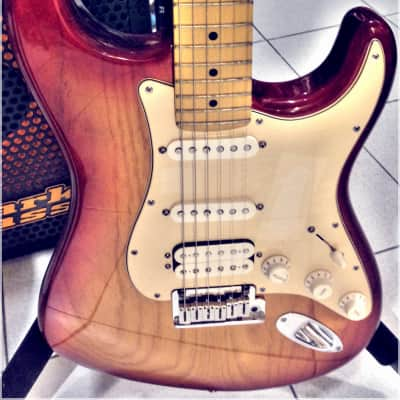 Fender American Deluxe Stratocaster ASH Maple TBS 2005 for sale