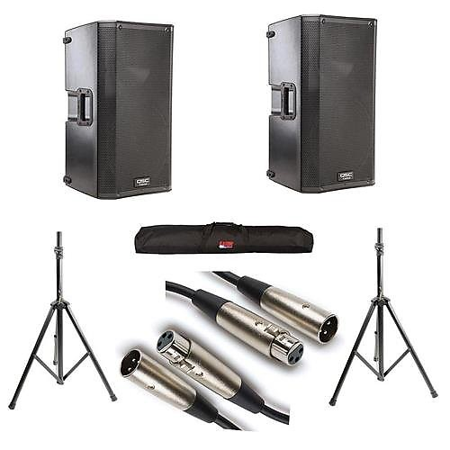 QSC K12 Complete Speaker Package (Pair) | Discount-Music
