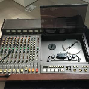 """TASCAM 388 Studio 8 1/4"""" 8-Track Tape Recorder with Mixer"""