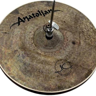 """Anatolian 15"""" JC Chocolate Move Hi-Hat"""