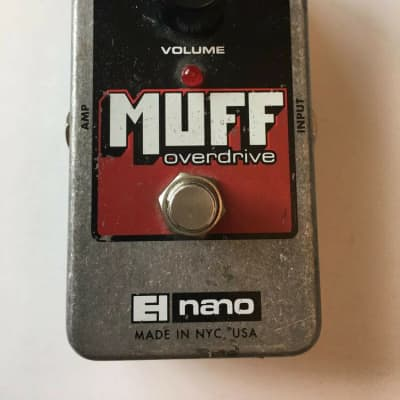 Electro Harmonix Nano Muff Overdrive Distortion Guitar Effect Pedal EHX