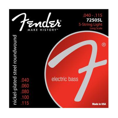 FENDER 7250 .40 - .115 Light Bass Strings (Five-String Models)