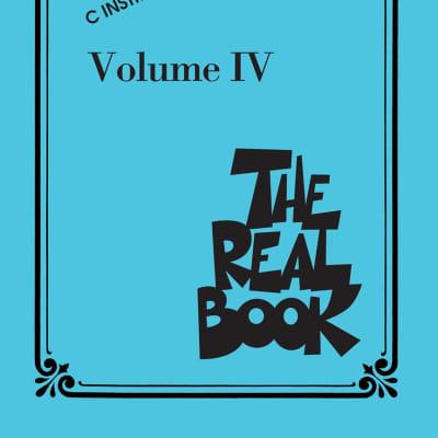 Hal Leonard HL00240296 The Real Book Vol IV C Instruments