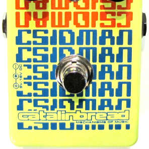 Used Catalinbread CSIDMAN Stutter Glitch Delay Guitar Effects Pedal!