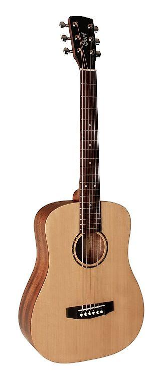 ca5e21260c Cort ADMINIOP Standard Series 3/4 Size Acoustic Guitar w /Gig Bag - Open  Pore Natural