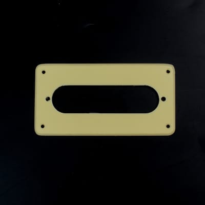 Humbucker to Strat Style Pickup Adapter Ring ,H-S-2 1-Ply Non-Slant Cream