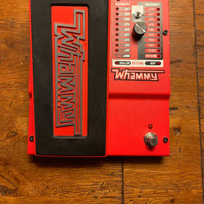 DigiTech Whammy Pitch Shiftp Pedal 2010s Red