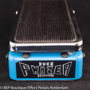 Uber rare Colorsound Fuzz Phazer 1975 made in England for sale