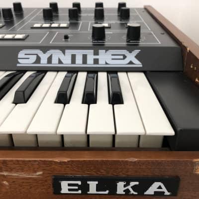 Elka Synthex Vintage Analogue Synthesizer w/ MIDI
