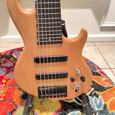 Conklin GT-7 Groove Tools onboard Aguilar Pre-amp 7 string bass for sale
