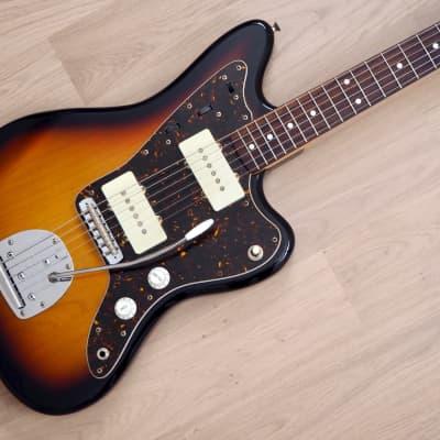2012 Fender Jazzmaster '62 Vintage Reissue Offset Electric Guitar JM66 Sunburst Japan MIJ for sale