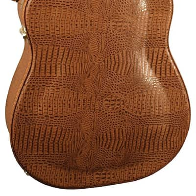 Stone Case Company ST-DAG Alligator Dreadnought Acoustic Guitar Hard Case w/Hygrometer for sale