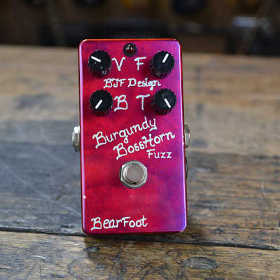 Bearfoot FX Burgundy Horn Fuzz 2015