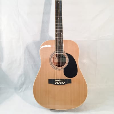 Stadium 12-String Dreadnought Acoustic Guitar-Natural Finish-Includes Shop Setup!