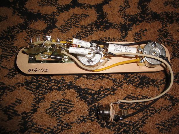 Pleasant Made For Fender Esquire Wiring Harness Original Scheme Cts Reverb Wiring Database Mangnorabwedabyuccorg