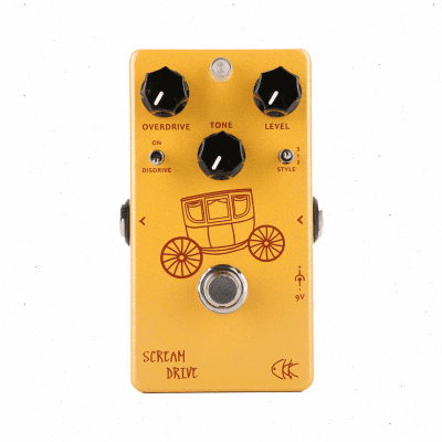 CKK Electronic Scream Drive Two Gain Stage Classic Overdrive