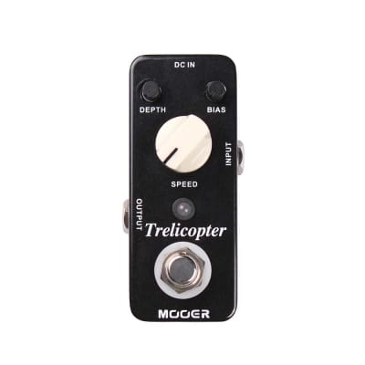 NEW! Mooer Trelicopter - Tremolo Black