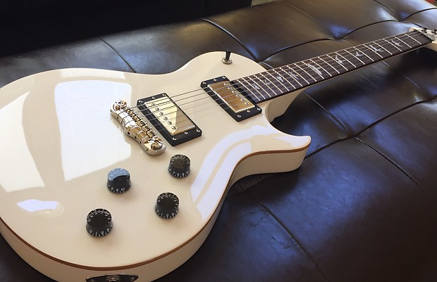 Prs Se245 Single Cut Antique White