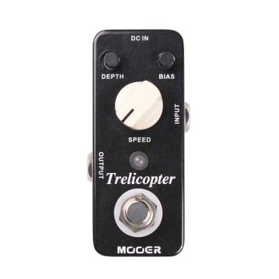 Mooer Trelicopter Classic Optical Tremolo Effects Pedal