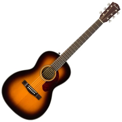 Fender CP-140SE Acoustic-Electric Parlor Guitar with Case - Sunburst