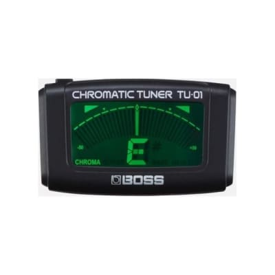 Boss TU-01 Chromatic Tuner clip-on for sale