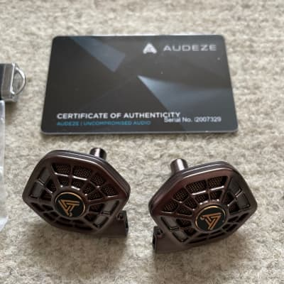 Audeze iSine 20 with CIPHER Lightning Cable / Original Accessories / Boxed