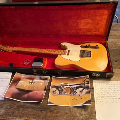All Original 1970 Fender Telecaster Guitar w/ Original Case. MUST SEE THE VIDEO! - Open to Trades
