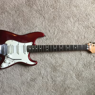Fender American Floyd Rose Classic Stratocaster 1996 Candy Apple Red for sale