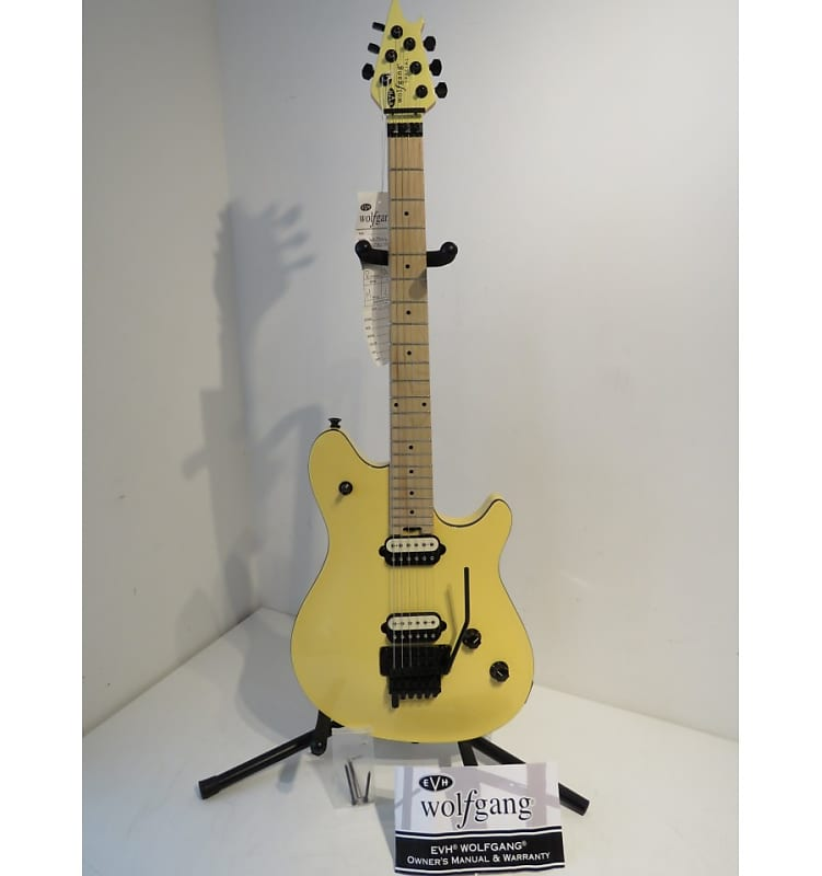 912e1c8f696 2017 EVH Wolfgang Special Electric Guitar - Vintage White –