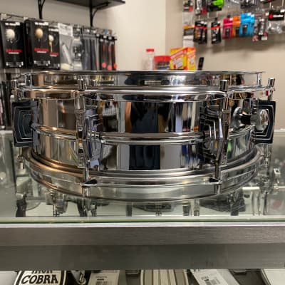 Sonor D453 Seamless Metal 14x5 Snare Drum - Mint