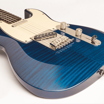 Dean Zelinsky Dellatera Z-Glide Custom 2019 Trans Blue for sale