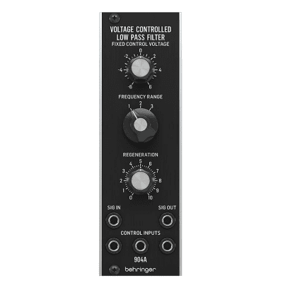 Behringer 904A Voltage Controlled Low Pass Filter Eurorack Synthesizer Module
