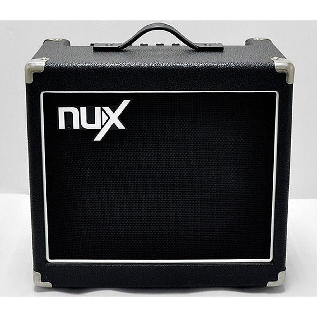 nux mighty 15 electric guitar combo amplifier with built in reverb. Black Bedroom Furniture Sets. Home Design Ideas