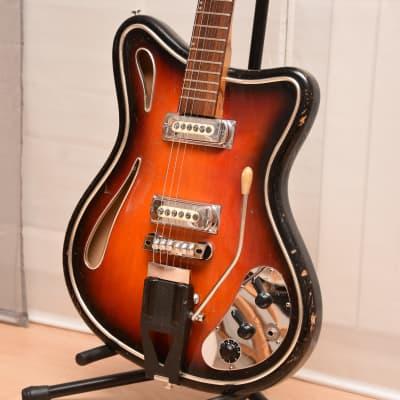 Hopf Saturn 63 – 1963 German Vintage Semi Acoustic Archtop Guitar / Gitarre for sale