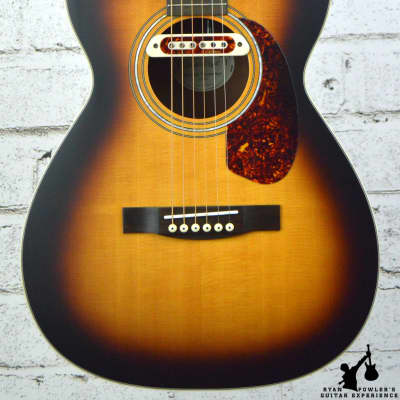 Guild M-240E Troubadour Vintage Sunburst Acoustic Guitar w/ Bag for sale