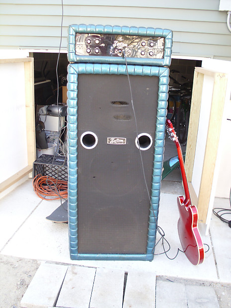 Kustom 200 Amplifier Head With 3 X 15 Cabinet BIG
