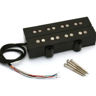 PU-DJA-B Twin Black 4-String Double J Bass® Humbucker Pickup Alnico 5