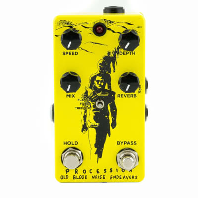 Old Blood Noise Procession Reverb V2 - Yellow & Black image