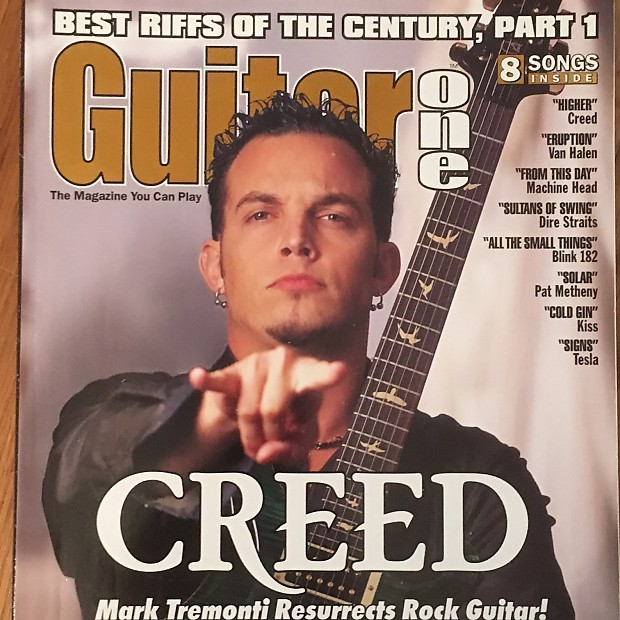 Guitar One November 1999 Creed Mark Tremonti | Reverb
