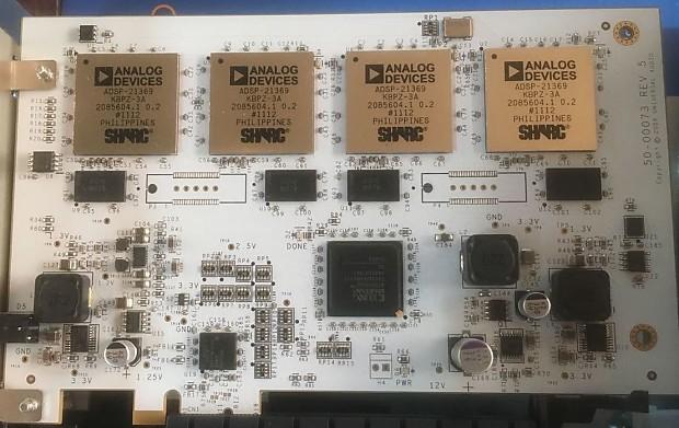 Universal Audio UAD-2 Quad PCIe card 2012 White