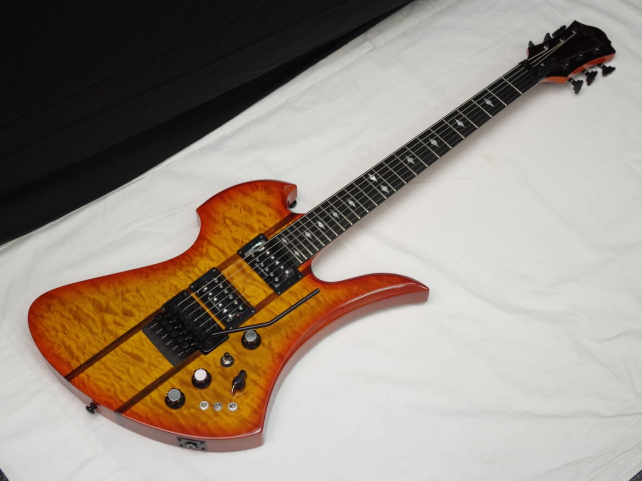 BC Rich Mockingbird ST electric Guitar Honey Burst NEW ...